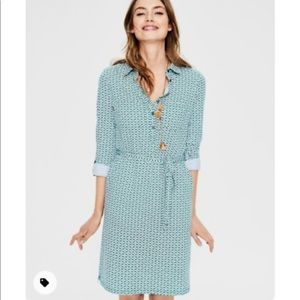 Boden Jenna Jersey Shirt Dress